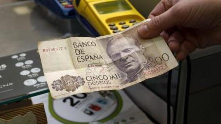 El año 2020 será el último para cambiar pesetas por euros