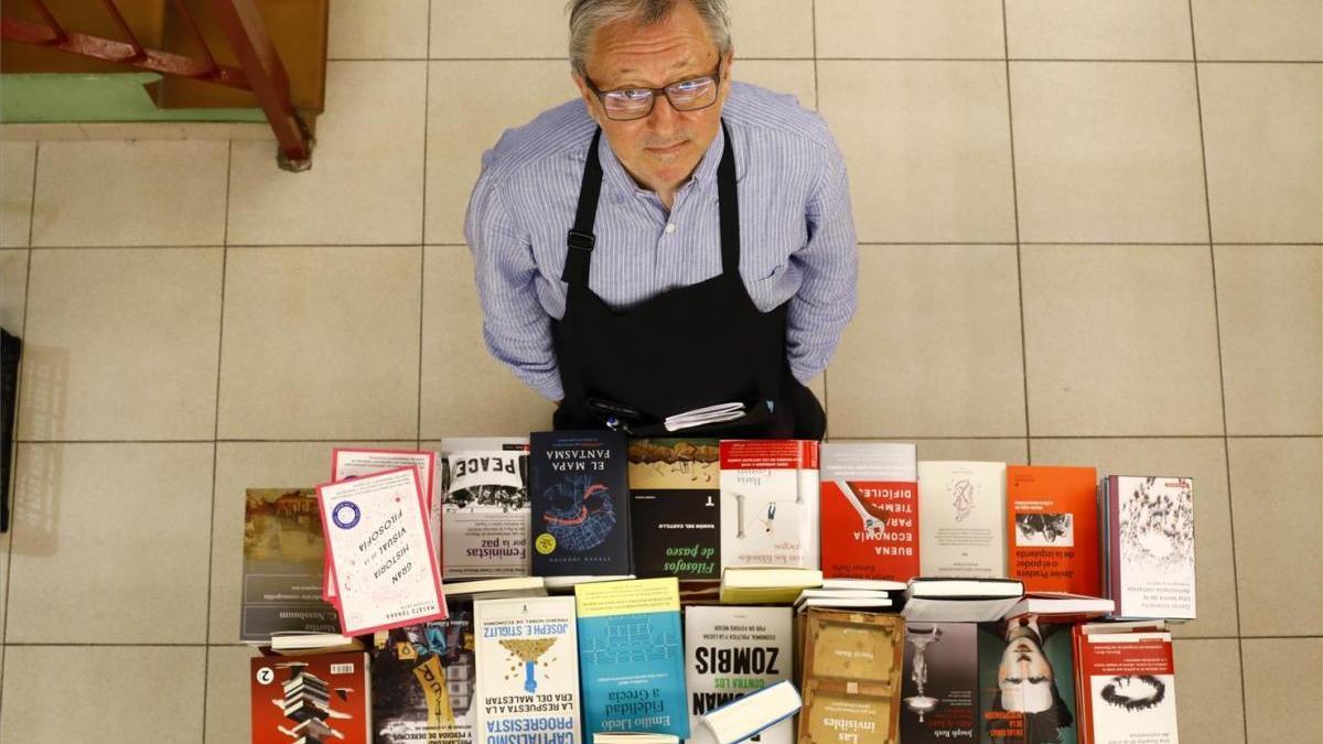 """Paco Goyanes: """"En esta crisis, el libro se ha convertido en una especie de bien refugio"""""""