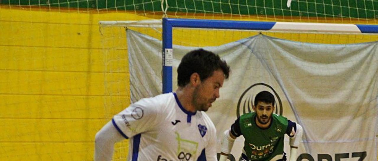Rafa Ara fue el autor del único gol del Alzira FS. | RAÜL AMAT