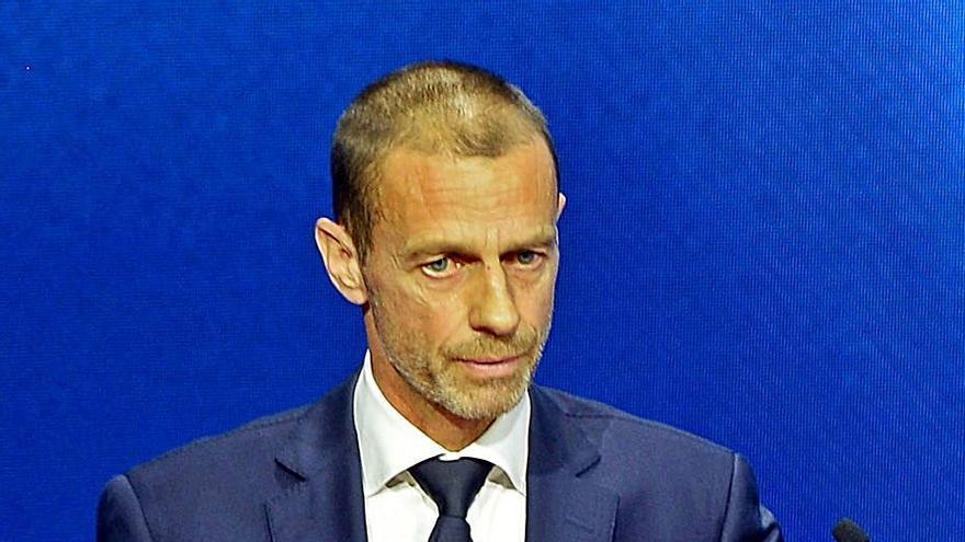 Ceferin habla de sanciones a Madrid, Barça y Juventus