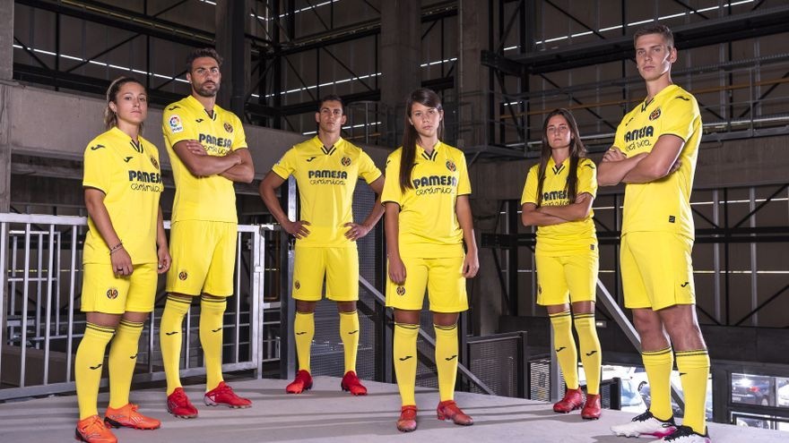 Las equipaciones del Villarreal para volver a la Champions