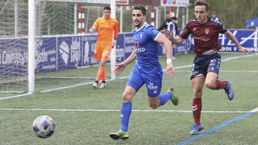 Crónicas, puntuaciones e imágenes de la jornada en Segunda B para los asturianos