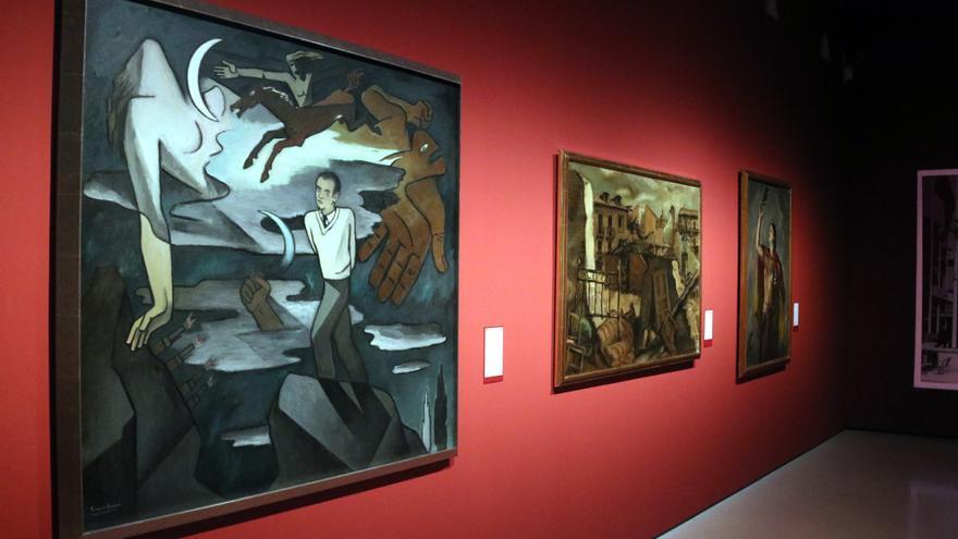 El Museu Nacional d'Art de Catalunya suma tres noves sales dedicades a la creació durant la Guerra Civil i exposa 108 peces de 43 artistes