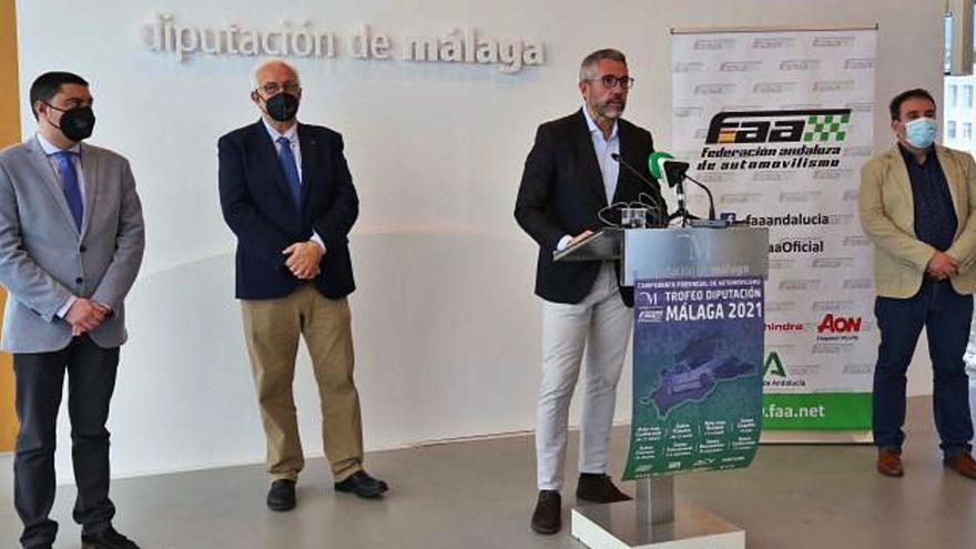 Casabermeja, punto de partida del Campeonato Provincial de Automovilismo de la Diputación