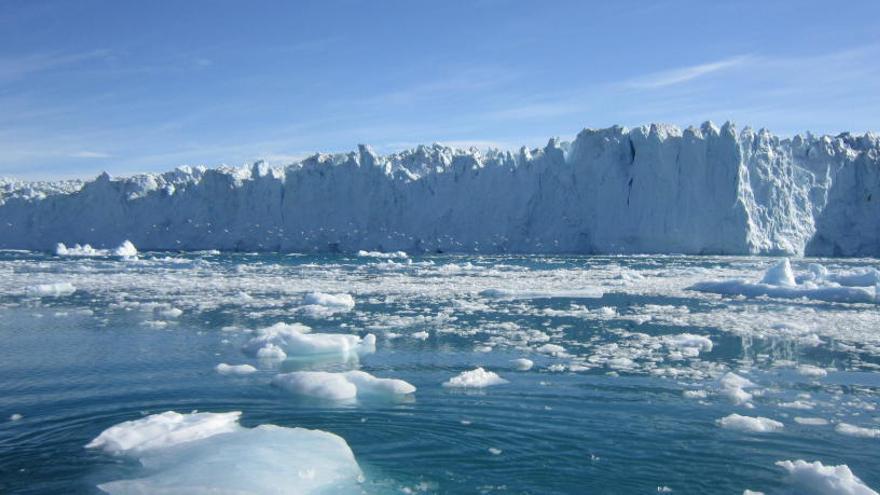 Groenlandia pierde hielo siete veces más rápido que en la década de los noventa