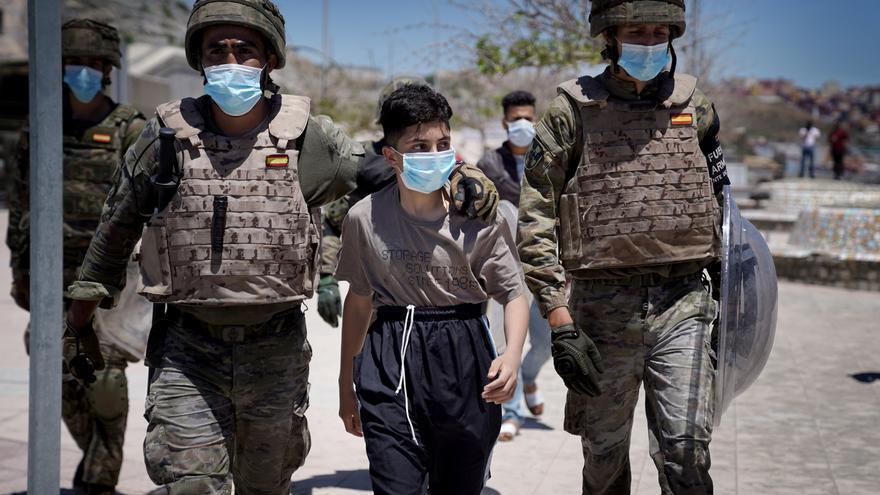 España y Marruecos comienzan a repatriar a 800 menores llegados a Ceuta en mayo