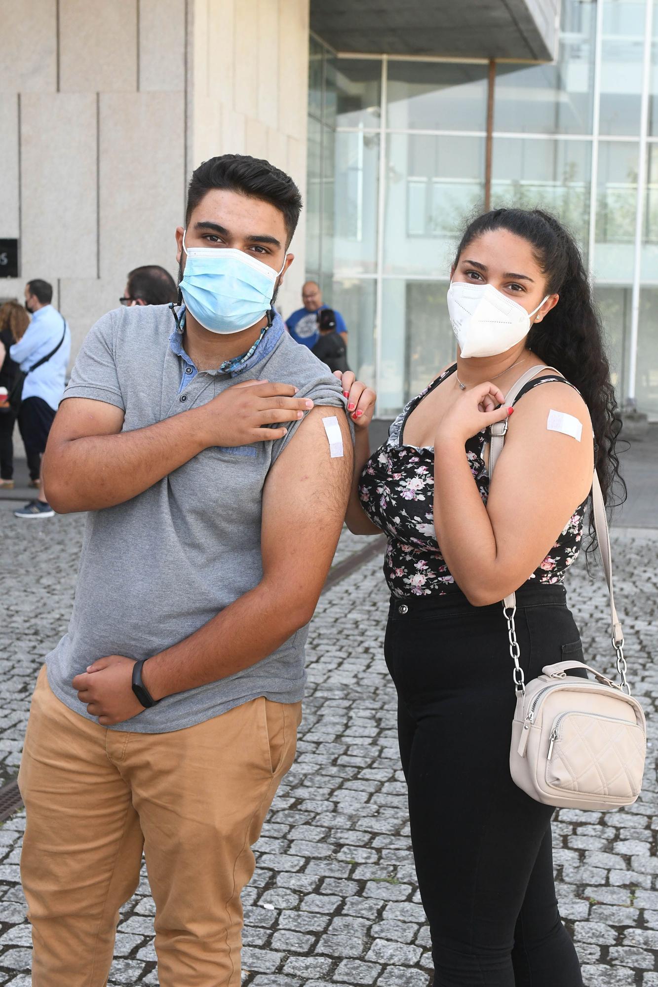 Vacunación sin cita en Expocoruña