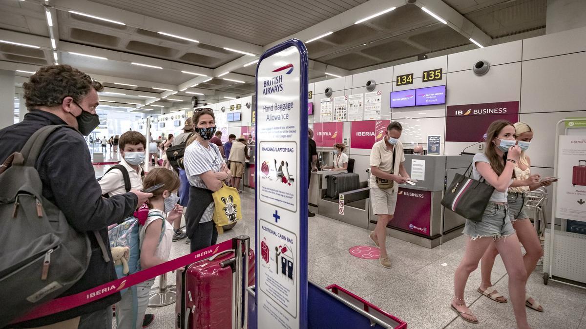 Los turistas británicos podrían volver en junio.