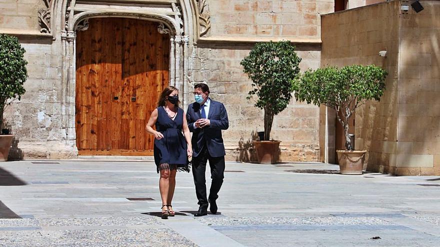 Los contactos territoriales de Puig reactivan el frente de la España despoblada