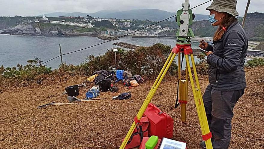 El estudio geofísico del castro de Peña Castiel localiza restos de estructuras