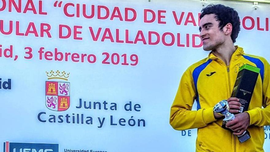 Diego Bravo estará en el Campeonato Nacional de Campo a Través con Castilla y León