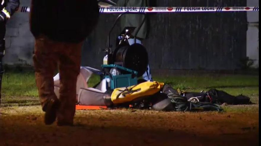 La Guardia Civil investiga la posible muerte violenta del cadáver hallado en un pozo de Vigo