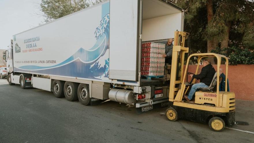10.000 kilos de arroz para paliar el hambre en Cartagena