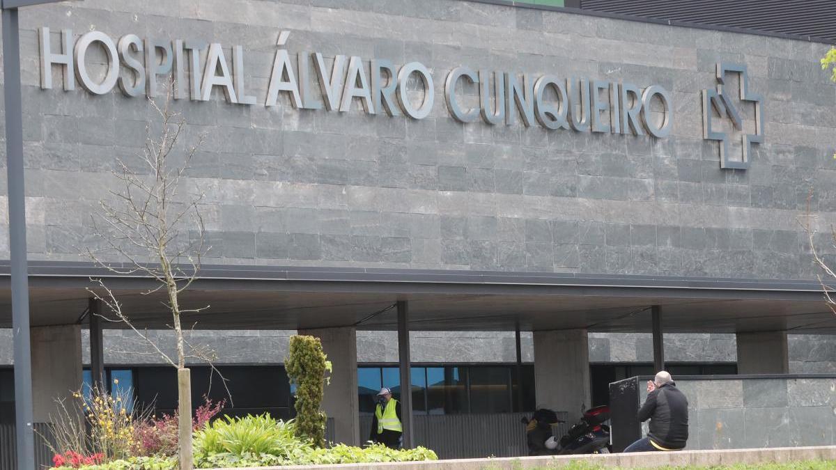 El hospital Álvaro Cunqueiro. // Ricardo Grobas