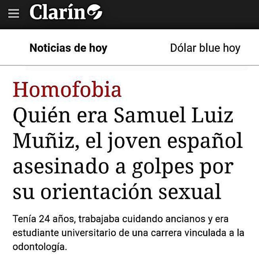 Medios de todo el mundo se hacen eco del crimen de Samuel Luiz