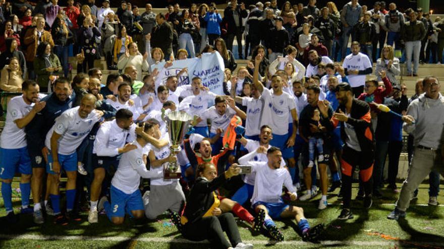 El Tamaraceite se juega el ascenso ante la Peña Deportiva de Ibiza