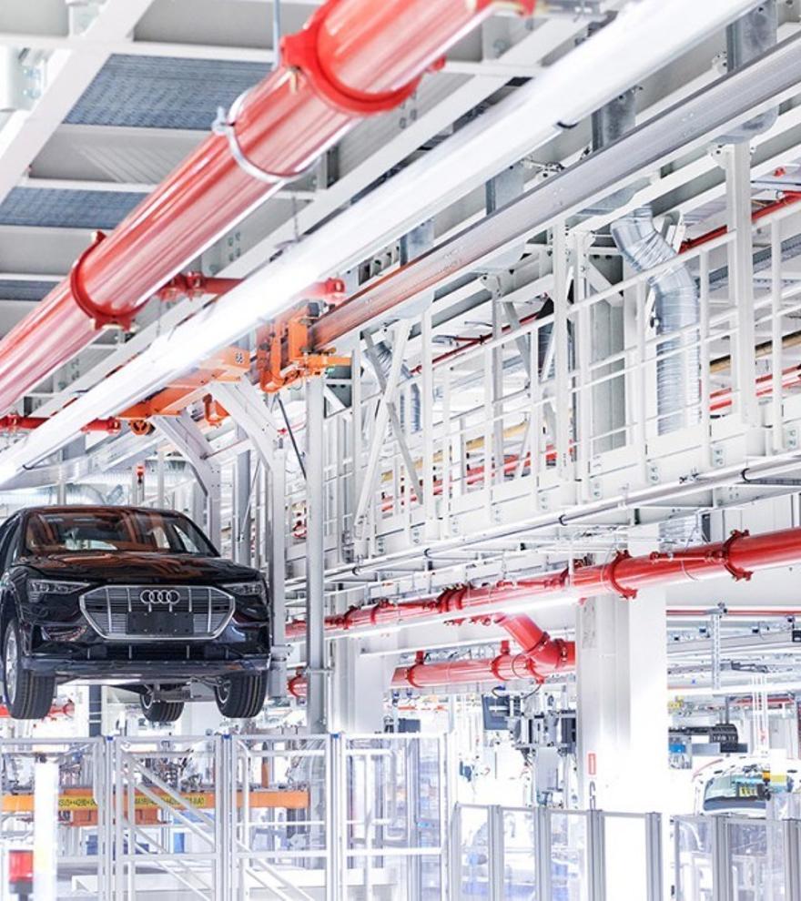 Audi quiere que todas sus plantas sean neutrales en emisiones para 2025