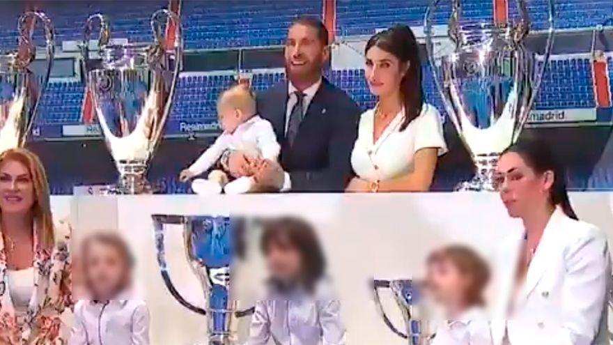 Polémica por el homenaje a Sergio Ramos: las críticas sobre sus hijos con Pilar Rubio causan una fuerte pelea