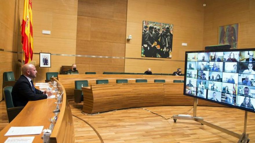 La diputación trata de salvar el bloqueo en Divalterra con la renovación del consejo