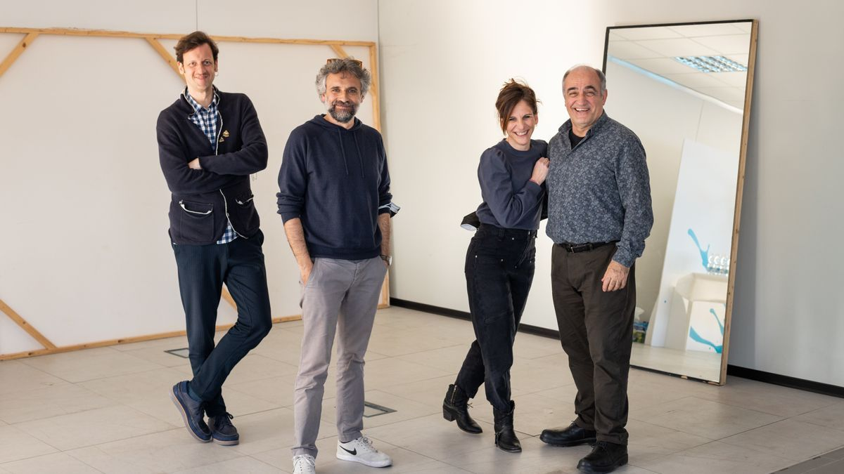 Edu Soto, Pau Durà, Malena Alterio y Francesc Orella.