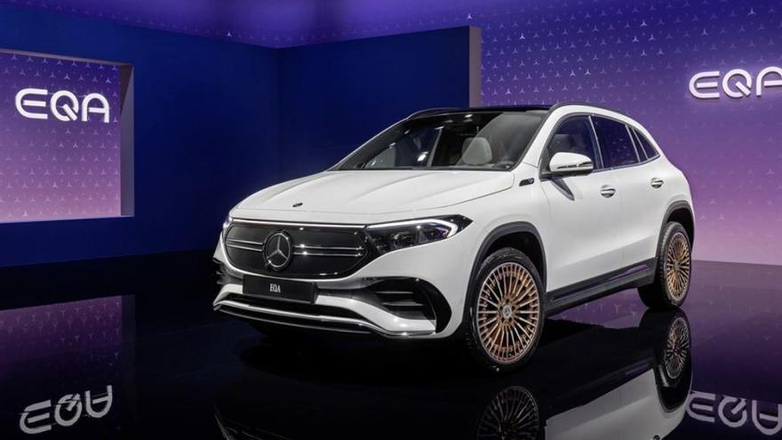 Nuevo Mercedes EQA, un SUV deportivo y 100% eléctrico