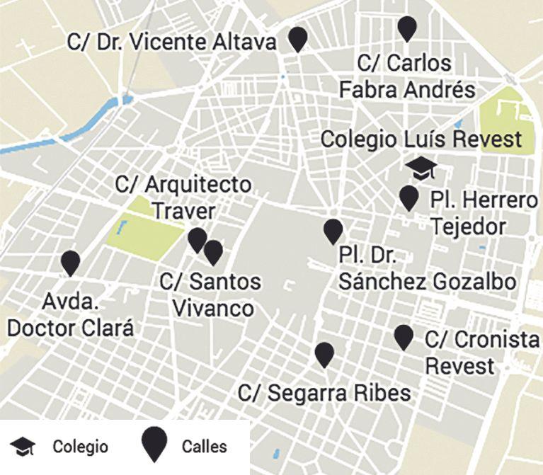 Plano de Castelló.
