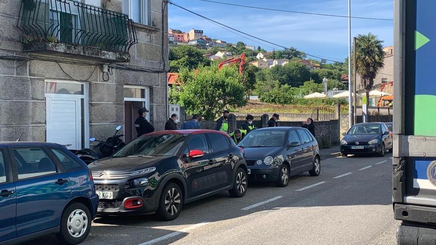 Operación antidroga en Vigo, Pontevedra y Poio