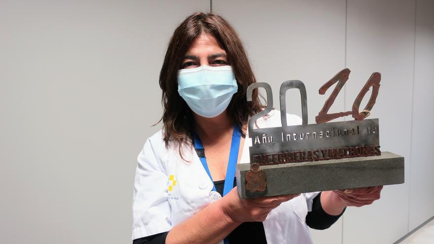 El Colegio de Enfermeros de Tenerife reconoce la labor y entrega del personal de Enfermería de La Candelaria