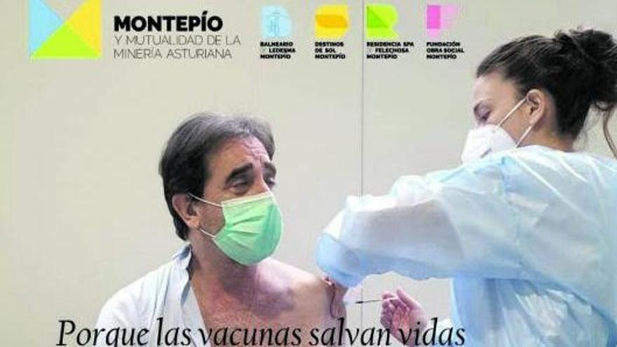 """Juanjo Pulgar se vacunó por obligación """"moral y legal"""", afirman en el Montepío"""