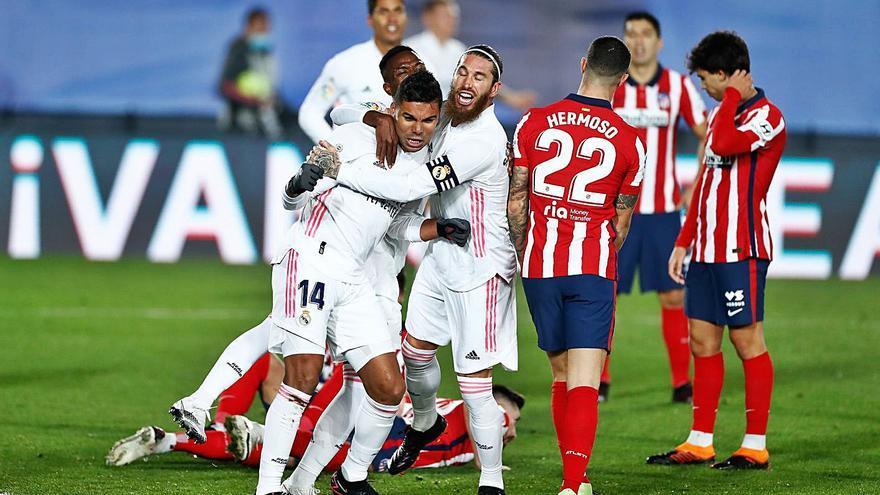 El Real Madrid exhibe su potencial