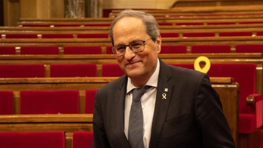 El vicepresidente del Parlament asegura que la Mesa no inhabilitará a Torra