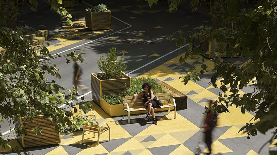 Nuevo mobiliario urbano «low cost»
