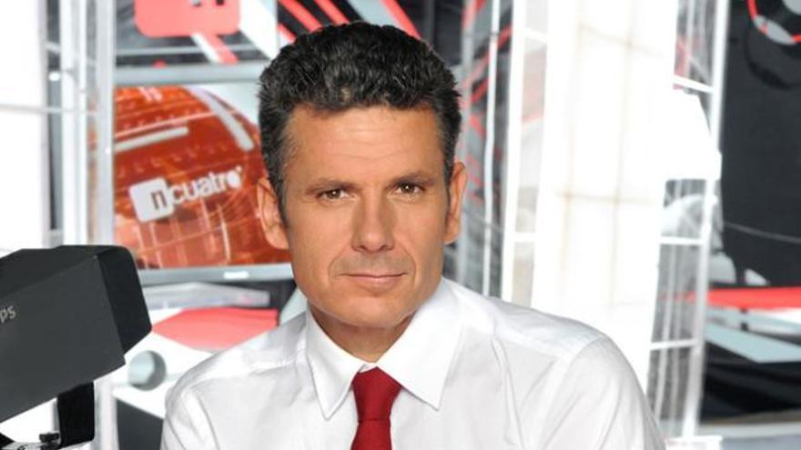 El reportero Roberto Arce