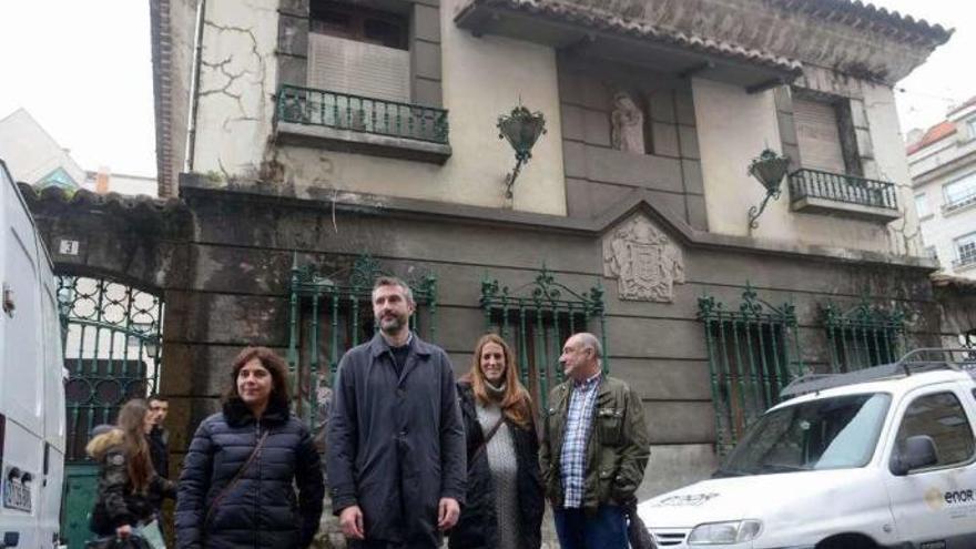 Vilagarcía adquiere al Plan Nacional de Drogas la Casa Jaureguízar embargada a Marcial Dorado