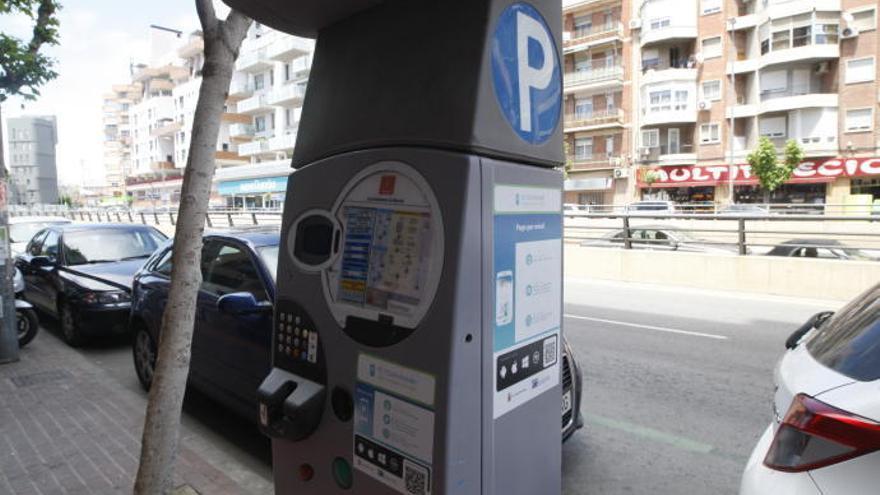 Aparcar en zona azul en Murcia será gratis todo agosto