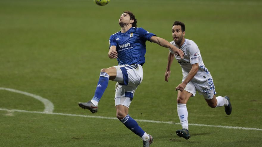 Ziganda agita el ataque del Oviedo ante el Zaragoza: Leschuk, al banquillo
