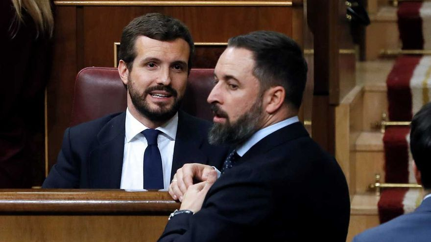 Directo | Sánchez e Iglesias defienden al Gobierno ante la moción fallida de Vox