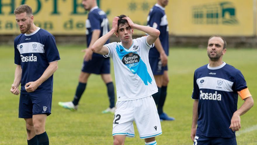 El Dépor no pasa del empate ante el Marino