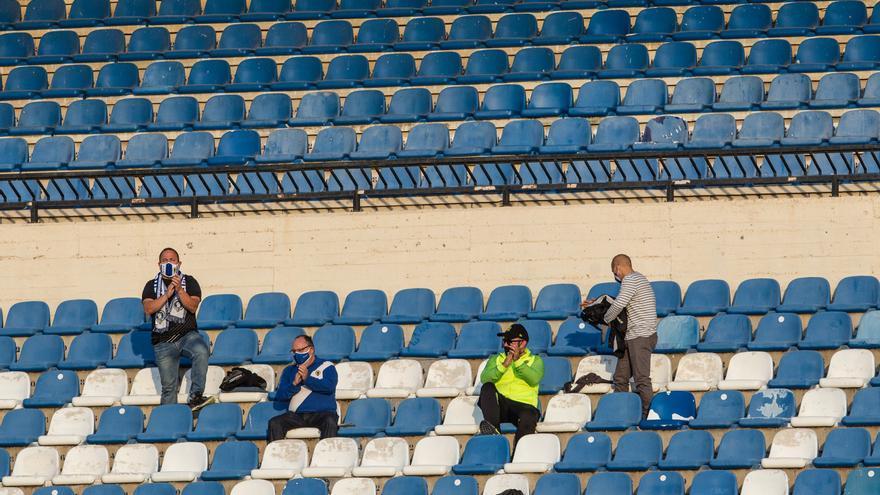 El Hércules-Peña Deportiva se disputará a puerta cerrada