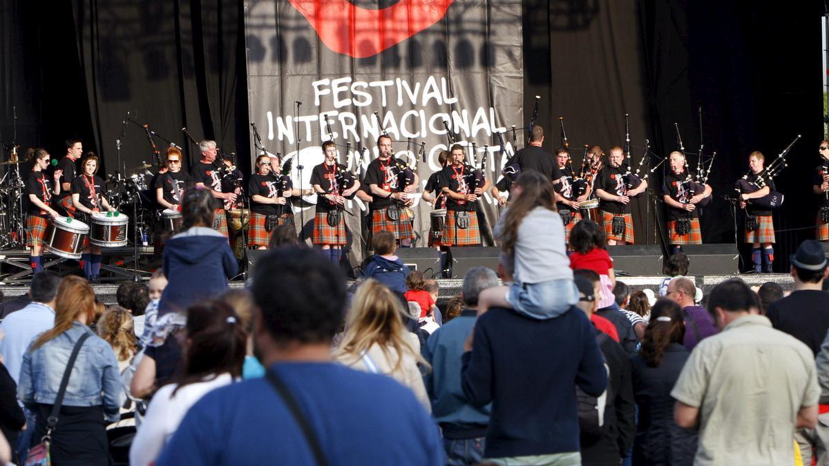 Festival Internacional del Mundo Celta de Ortigueira.