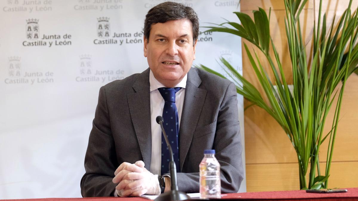 consejero de Economía y Hacienda, Carlos Fernández Carriedo