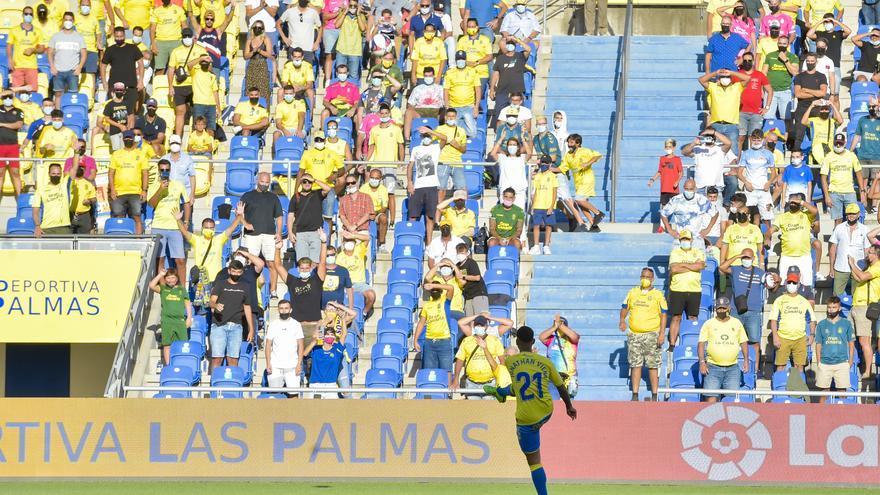 La UD Las Palmas puede meter a 19.200 fieles para el estreno de Viera ante el Ibiza