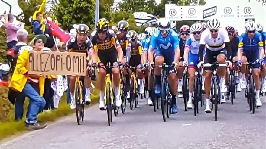 La policía detiene a la espectadora que causó la caída del Tour
