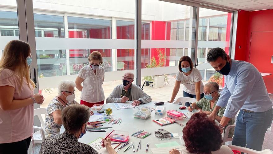 """El programa """"Espai gran"""" d'Almussafes manté l'aposta per l'envelliment saludable, actiu i participatiu"""