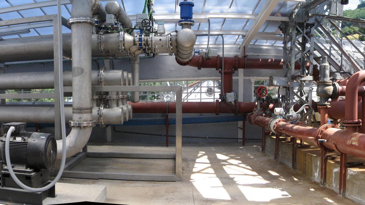 Instalación de energía eeotérmica en el Pozo Barredo de HUNOSA.