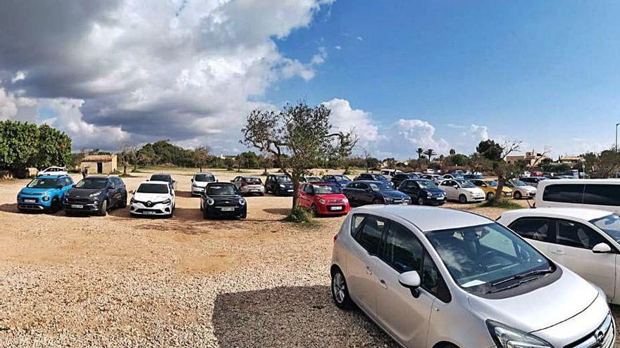 Santanyí aboga por «controlar» el parking que utilizan los bañistas del Caló des Moro