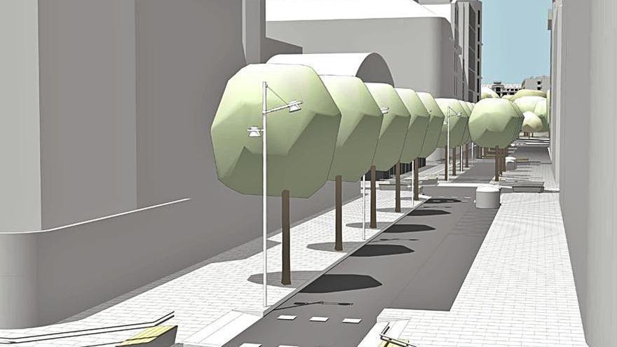 Arranca la licitación de la peatonalización de Alcalde Marchesi y Compostela