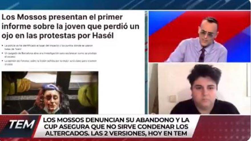 """Risto a la portavoz del colectivo Arran: """"No merecéis ni la tierra que pisáis"""""""