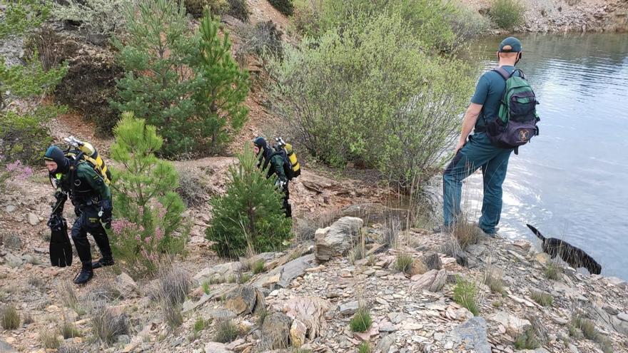 La Guardia Civil busca al desaparecido de Figueruela en una pizarrera abandonada
