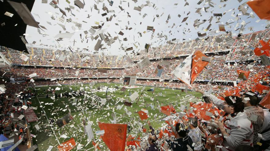 Revive los mejores momentos de la  magia de Mestalla, que pronto volverán